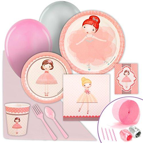 Ballerina Tutu Value Party Pack Bundle  sc 1 st  Amazon.com & Ballerina Party supplies: Amazon.com