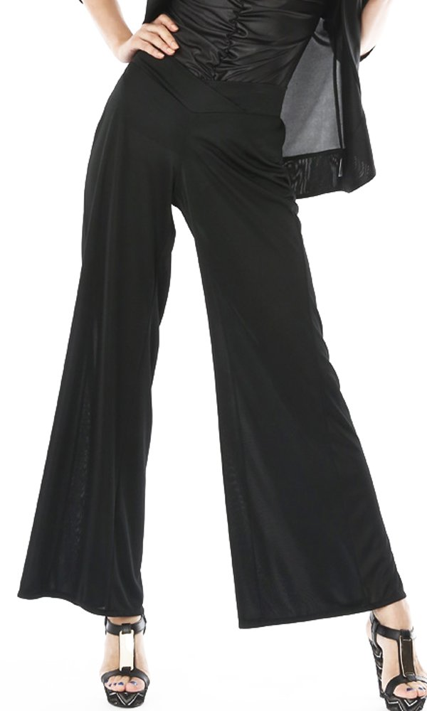 Parolari Emilio Pucci Wide Leg Pants, Custom Length & Waist, L, Made in JAPAN