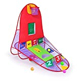 Yubbaex Children Play Tent Ball Scoring Tent Game House Playhouse Basketball Basket Tent Beach Lawn Tent Ball Pool Indoor Outdoor Foldable Tent
