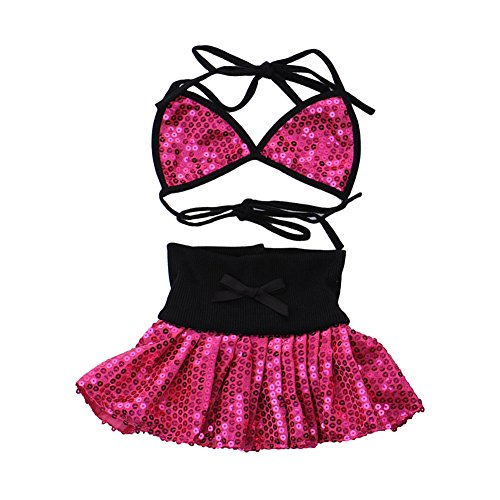 VLUNT Pet Dog Bikini Dress Puppy Summer Clothes Fashion Sequins Costume (Costumes For Puppies)