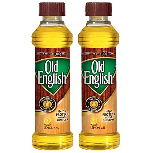 Old English Wood Polish, Bottle, 16 Oz, Pack of 2 ()