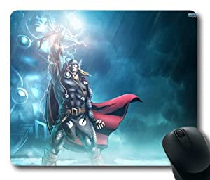 Marvel vs capcom 3 thor rectangle mouse pad by LZHCASE