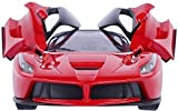 MW toyz Remote Control Ferrari R/C Car With Openable Doors And Rechargable Batteries For Kids (Red)