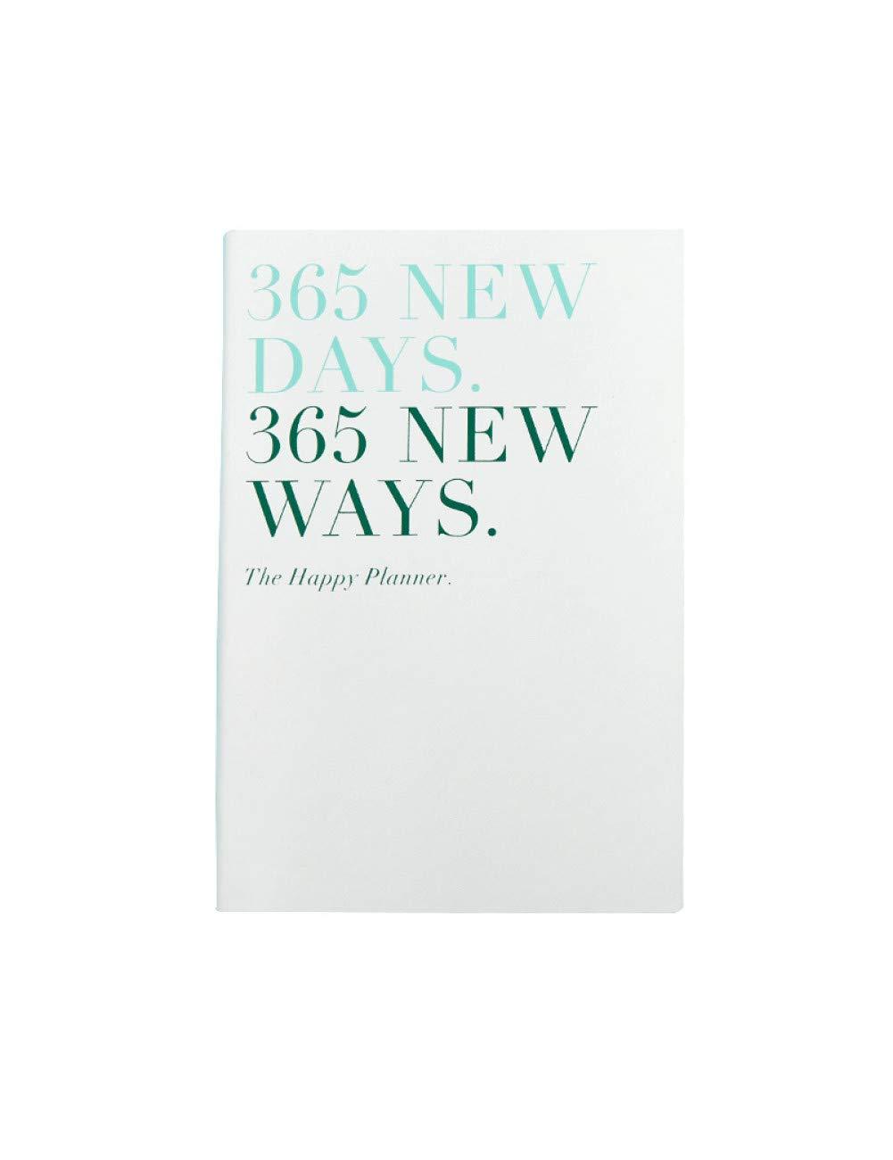 ZXSH Cuaderno Notebook-Scheduler 365 Días A5 Programación ...