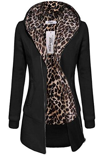 Black Wool Leopard - 2