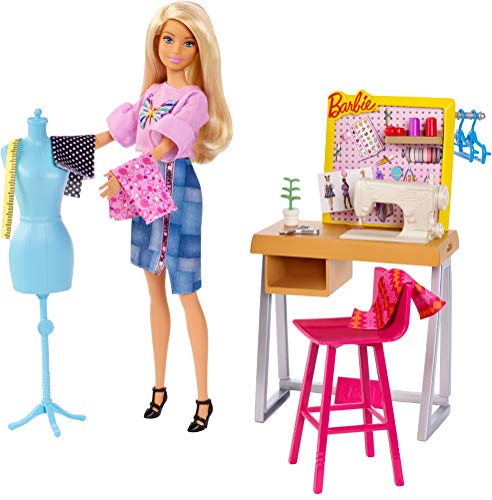 Barbie Career Playsets Featuring Job Themes and Related Accessories for Kids Learning Fun Aged 3 to 7 Years Old