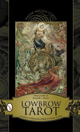 Lowbrow Tarot: Major Arcana Cards (with cards)