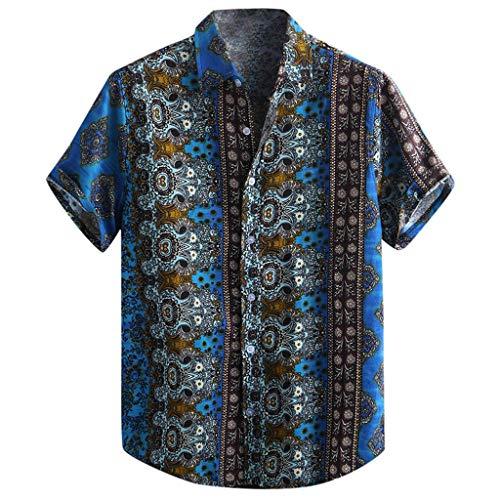 Power Pleated Tennis Skirt - Men's Relaxed-Fit Silk/Linen Tropical Leaves Jacquard Shirt Hawaiian Flower Print Casual Button Down Short Sleeve Shirt