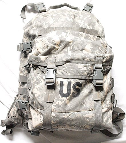 Assualt Pack - Military Outdoor Clothing Molle Assault Previously Issued ACU G.I. Molle Assault Pack, Camouflage
