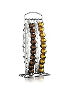 Krups - Portacapsulas Dispensador Plano Nespresso-40, 10008