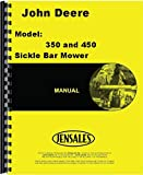 John Deere 350 Sickle Bar Mower Operators Manual