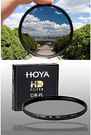 vendedor del Reino Unido * Filtro Polarizador Circular 58mm Hoya-estructura Delgado