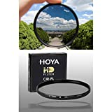 Hoya 58mm Circular Polarizer HD Hardened Glass 8-layer Multi-Coated Filter