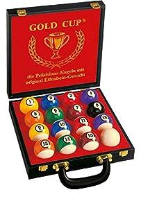 Automaten Hoffmann Turnier-Billardkugeln Gold Cup