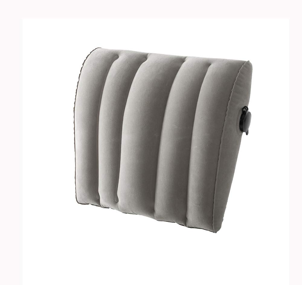 Aufblasbare Lendenwirbelkissen für den Außenbereich der Lendenwirbelsäule für den Außenbereich Lendenkissen, grau