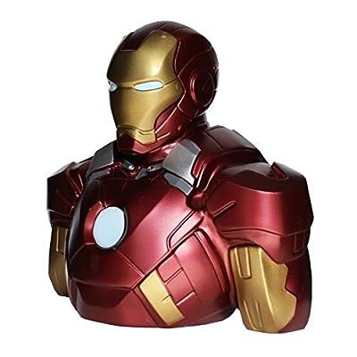 Semic distribution Iron Man - Money Bank Bust 22C: Toys & Games