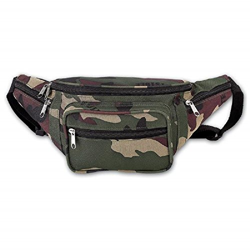 Extreme Pak Invisible Pattern Camouflage Water-Resistant Waist Bag Extreme Pak Invisible Camo