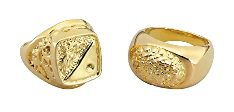 08fdf179d2d59 Sovereign Style Ring in Gold  Bristol Novelty  Amazon.co.uk  Toys ...