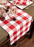 DII Classic Gingham Check Tabletop Collection