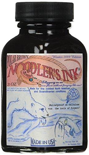 Noodler's Ink Polar Brown Bottled Ink Refill Brown Bottled Ink Refill