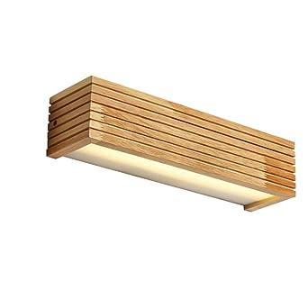 Escalera Maciza Pared De Madera Baño Pasillo Led Lámpara OnPZNk0w8X