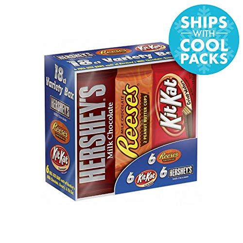 Wholesale Chocolate Candy - Hershey Candy Bar Assorted Variety