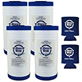 water filter pitcher walmart Aqua-Pure AP810 AP801 Whirlpool WHKF-GD25BB Compatible Filter, Set of 4, KleenWater KW810EC Replacement Water Filter Cartridges 5 Micron