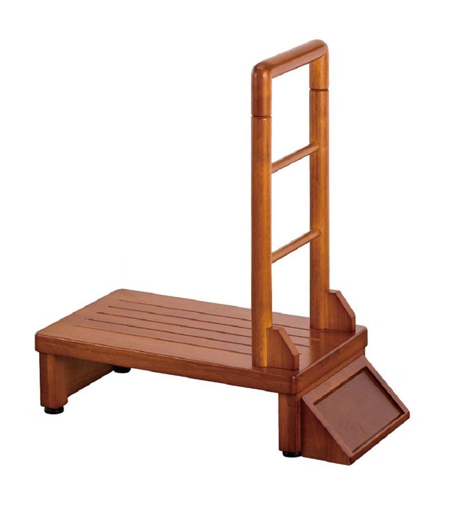 武田コーポレーション 【踏み台ステップすのこ】 木製玄関台 120㎝ THG120 B00O3401JE 幅120cm|手すりなし 幅120cm