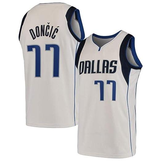 AKCHIUY Camiseta De Baloncesto para Hombre , Luka Doncic # 77 ...