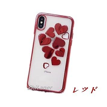 c32d5803f3 ZhiLaner 携帯カバー iPhone8ケース オシャレ アイフォン8ケース 可愛い iPhone7/8カバー ハート柄