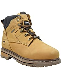 """Waterproof Work Boots Men's 6"""" Boot For Contstruction With 3M Thinsulate Insulation"""