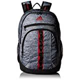 adidas Prime III Backpack, Jersey Onix/Scarlet, One Size