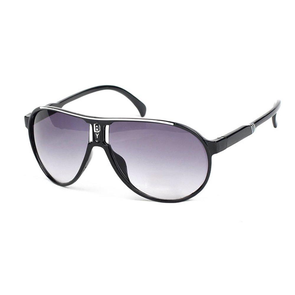 Gabkey Boy Kids Classic Retro Style Round 55mm Sunglasses SS-SZ0004-BL