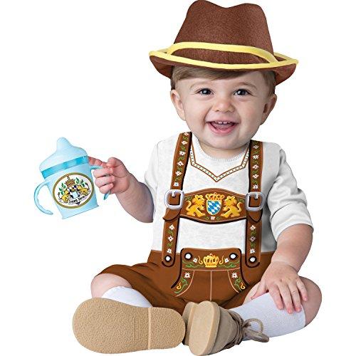Lederhosen Costume Child - Totally Ghoul Baby Bavarian Costume Baby Boys (12-18 months)