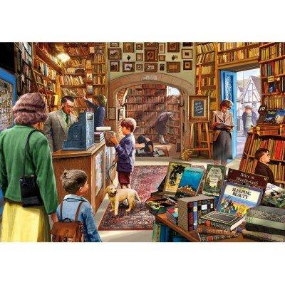Wentworth The Bookshop 250 Piece Steve Crisp Wooden Jigsaw Puzzle