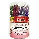 Kiss Large Blades Eyebrow Shaper 72pc
