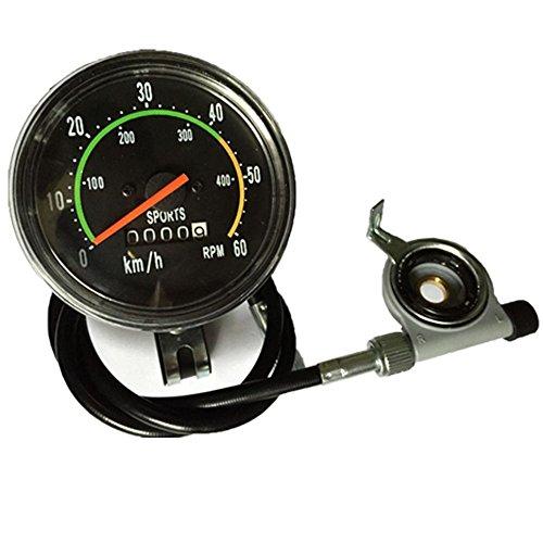 Seeutek Classic Style Analog Speedometer Resettable Odometer Speed - Classic Speedometer