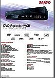 Sanyo DVD Recorder/VCR Combo 2-way recording