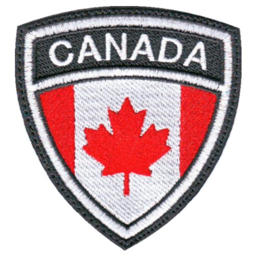 Canada-Crest-Badge-Flag-Embroidered-Sew-On-Patch