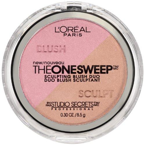(L'Oreal Paris Studio Secrets The One Sweep Sculpting Blush, Posh, Mauve, 0.30 Ounce)