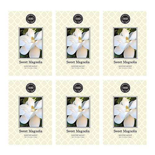 Bridgewater Scented Sachet - Sweet Magnolia, 6-Pack