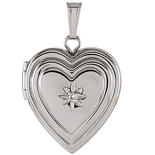 925 Sterling Silver Embossed Multiple Heart Shaped Locket Pendant for Women - Tarnish Resistant Nickel Free - Non Allergenic