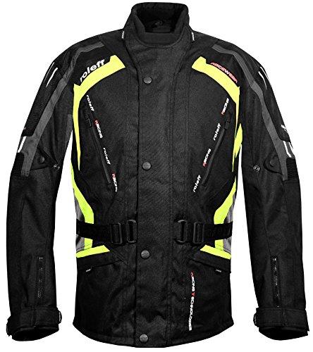 Roleff Racewear Kodra Jacke Gent RO 387, Schwarz/Grau/Neon, Größe XXXL