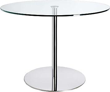 Habitat - Courbe Table de salle à manger en verre -: Amazon.fr ...