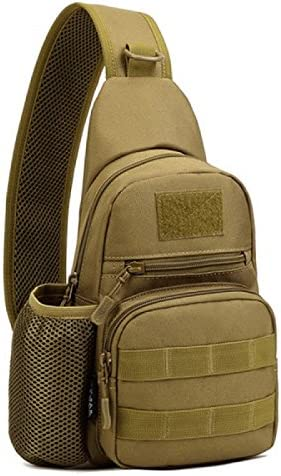 Outdoor Sports Military Tactical Range Single Shoulder Camping Hiking Pouch Bag