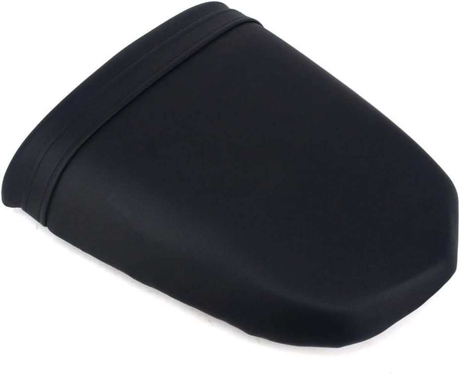 Fast Pro Back Motorcycle Seat Soft Comfortable Leather Rear Pad Cusion Seat Passenger Pillion For SUZUKI GSX1300BK B-KING 2008-2012 Black