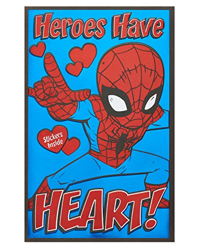 American Greetings Spider-Man Valentine's Day Card with Foil