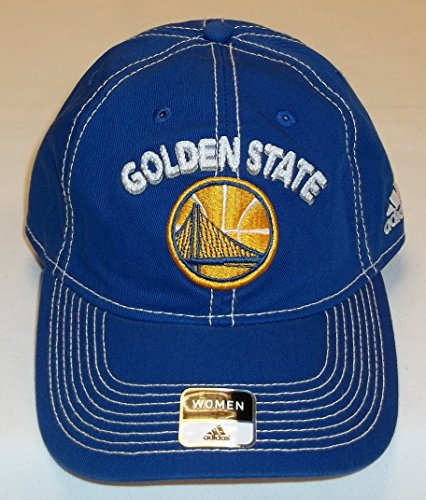 Golden State Warriors Women's Slouch Strap Back Hat By Adidas - EX26W