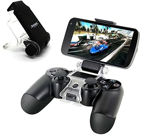 iNextStation Smartphone Clip for Sony PlayStation 4 PS4 controller mobile phone support Game Pad for Android Smartphones ... by iNextStation: Amazon.es: Videojuegos