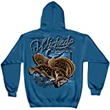 Trout Fishing Lures   Fluke Fishing Hooded Sweat Shirt ADD-WF108SWXXL